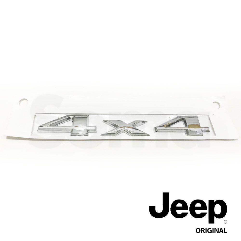 Emblema Jeep Renegade / Compass 4x4 Cod. 51945122