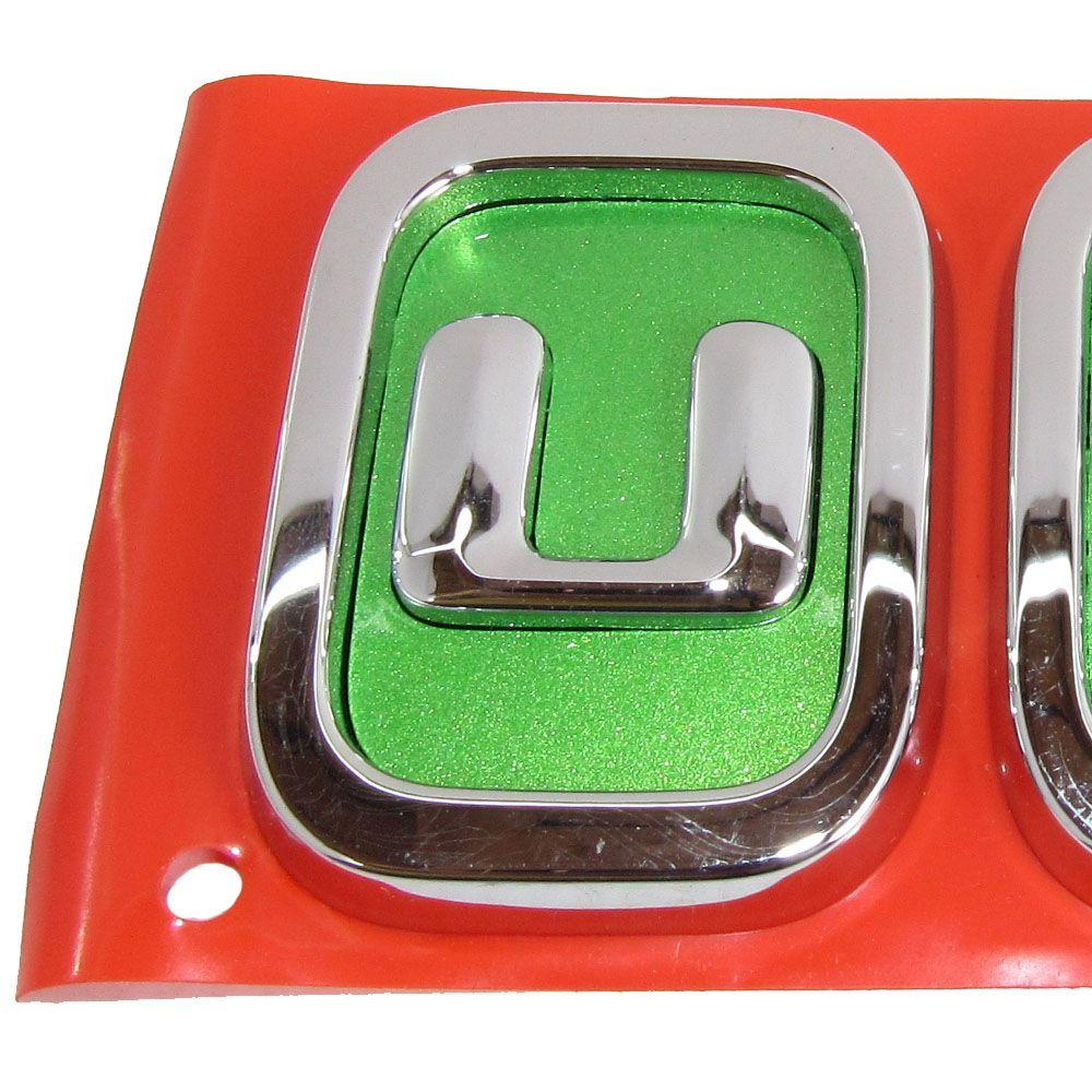 Emblema Novo Uno Original Genuíno Cod. 100200755