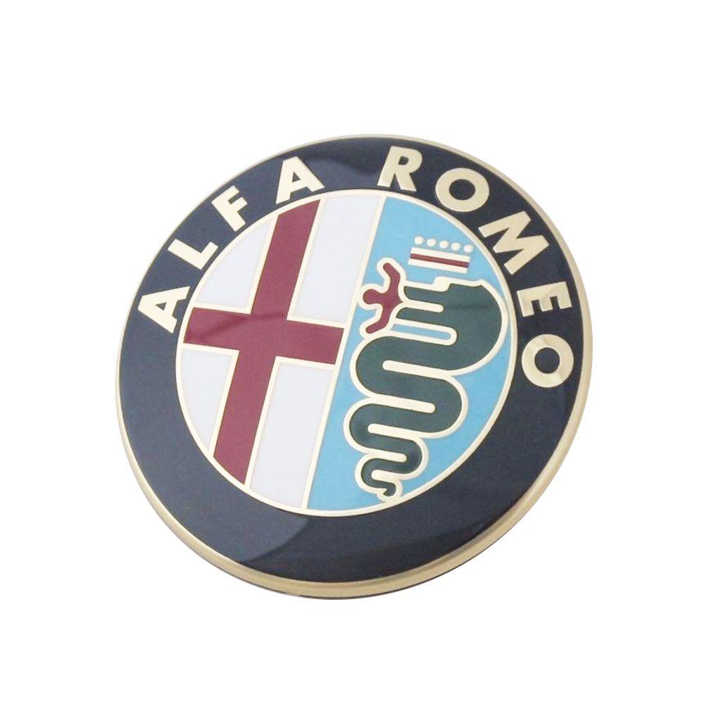 Emblema Traseiro Original Alfa Romeo 156/156 SW e 147 Cod. 46822713