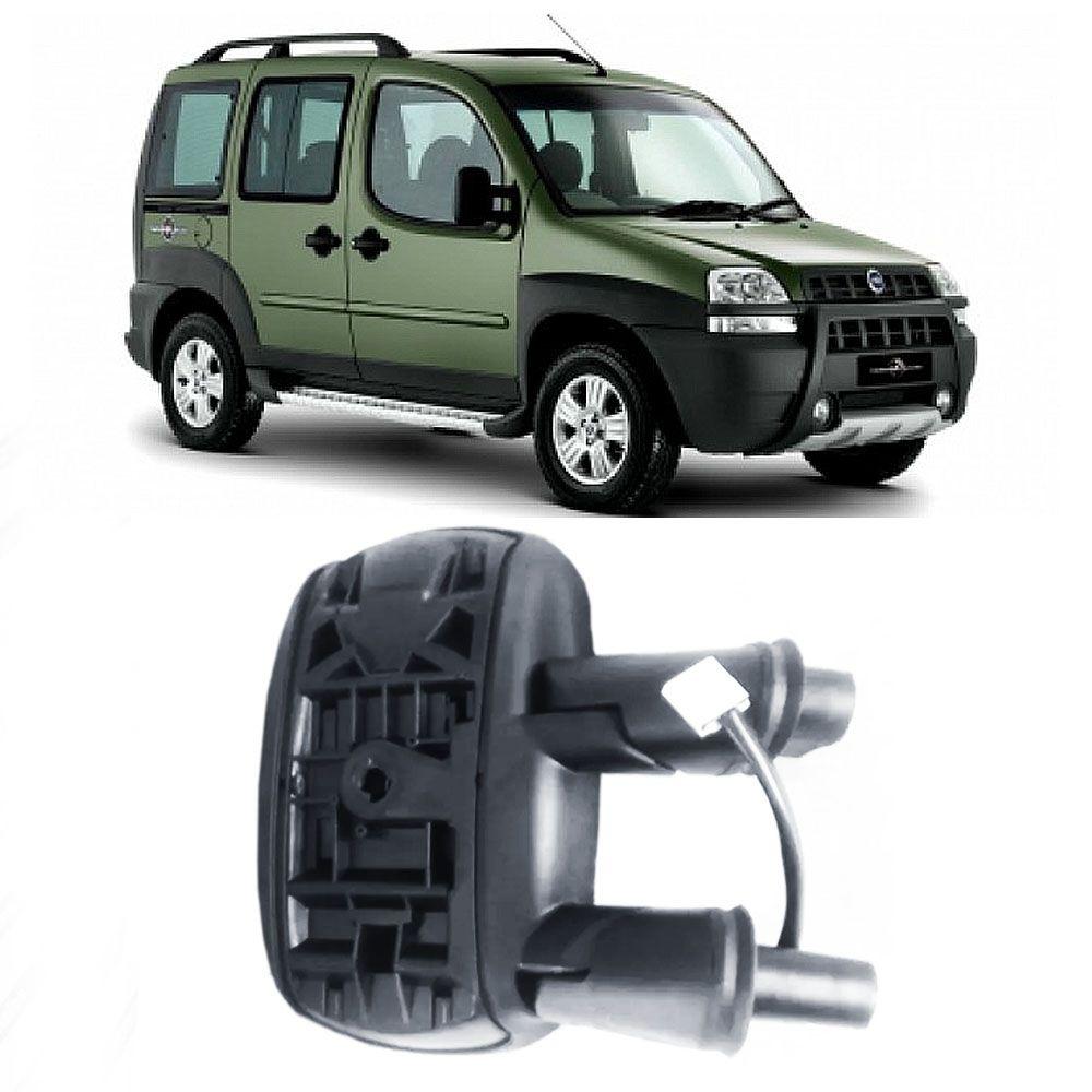 Espelho Retrovisor Elétrico Fiat Doblo 2002 a 2009 (LADO DIREITO) Cod. 100161705