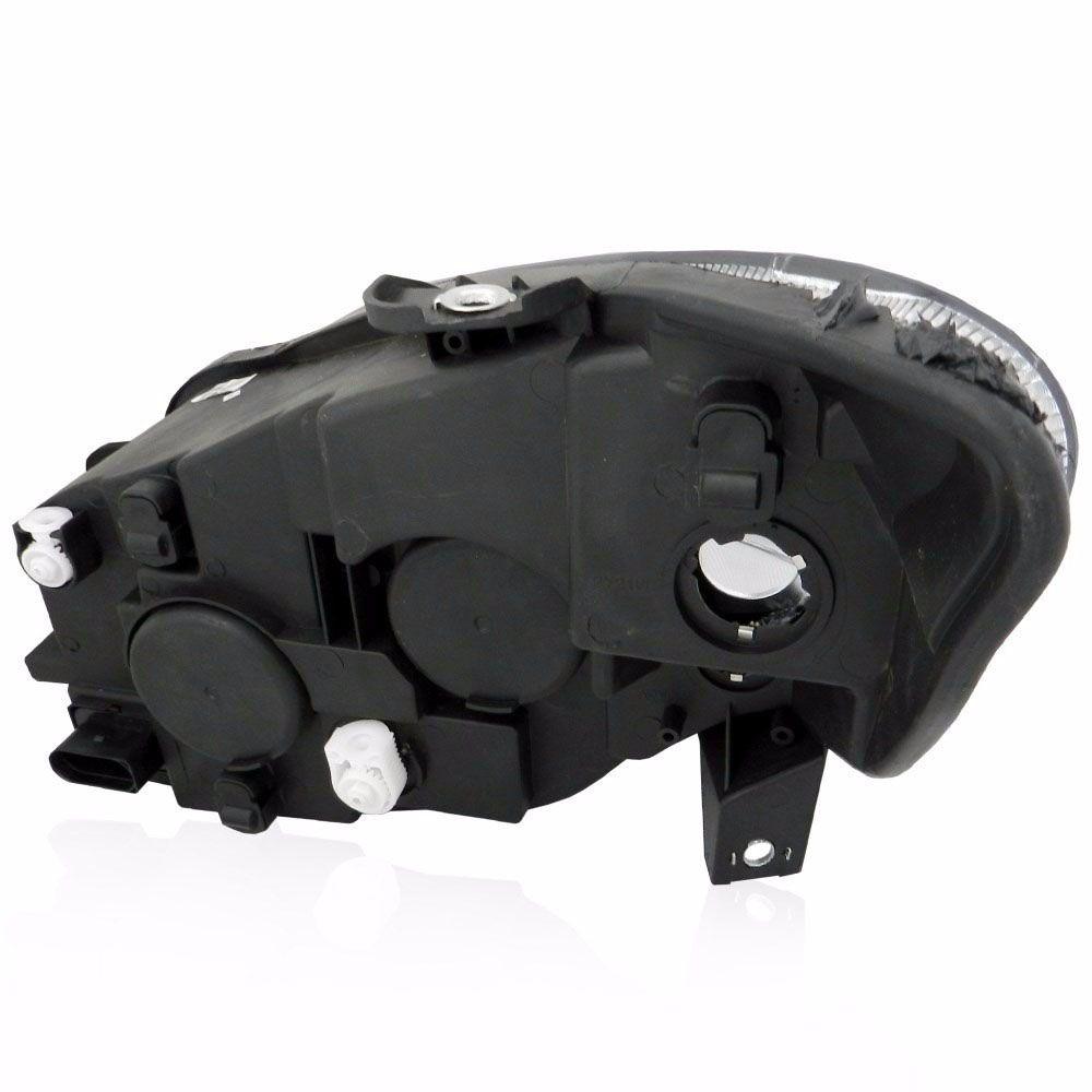 Farol Fiat Idea Mascara Negra 11 a 16 (LADO ESQUERDO) Cod. 51901499