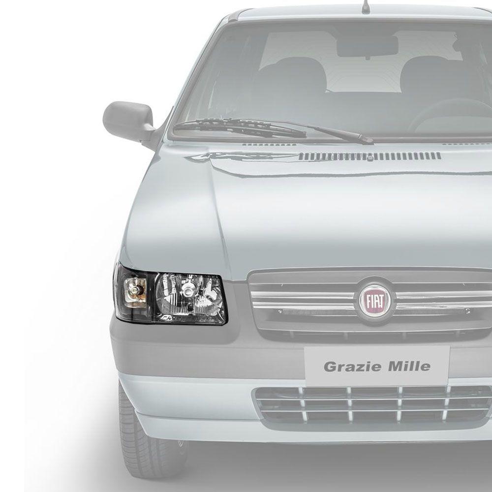 Farol Fiat Uno/Fiorino 2008 a 2012 (lado esquerdo) 51959388