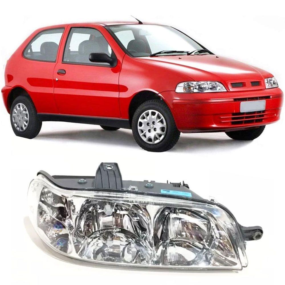 "Farol Original Fiat Palio / Siena / Wekeend ""G2"" (LADO DIREITO) Cod. 46806581"