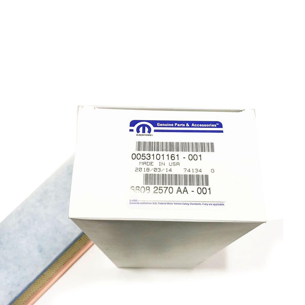 Filtro de Ar Motor Fiat 500 1.4  2010+ Cod. K68082570AA