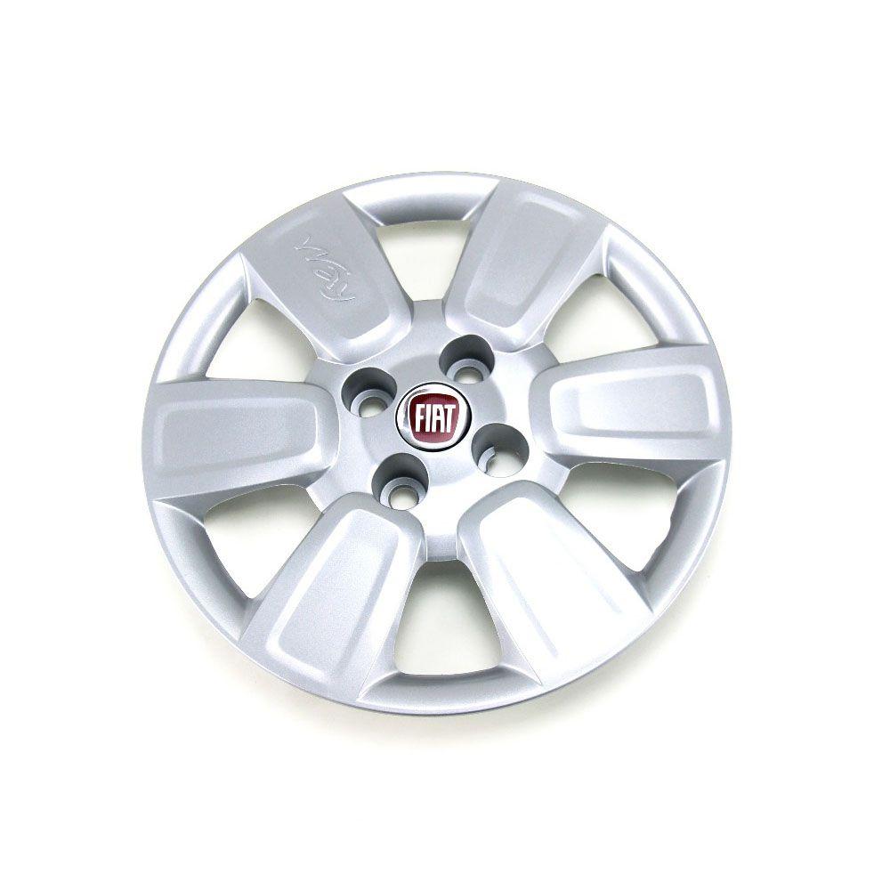 """Jogo de Calotas Aro 14"""" Novo Fiat Uno Original Cod. 100205245"""