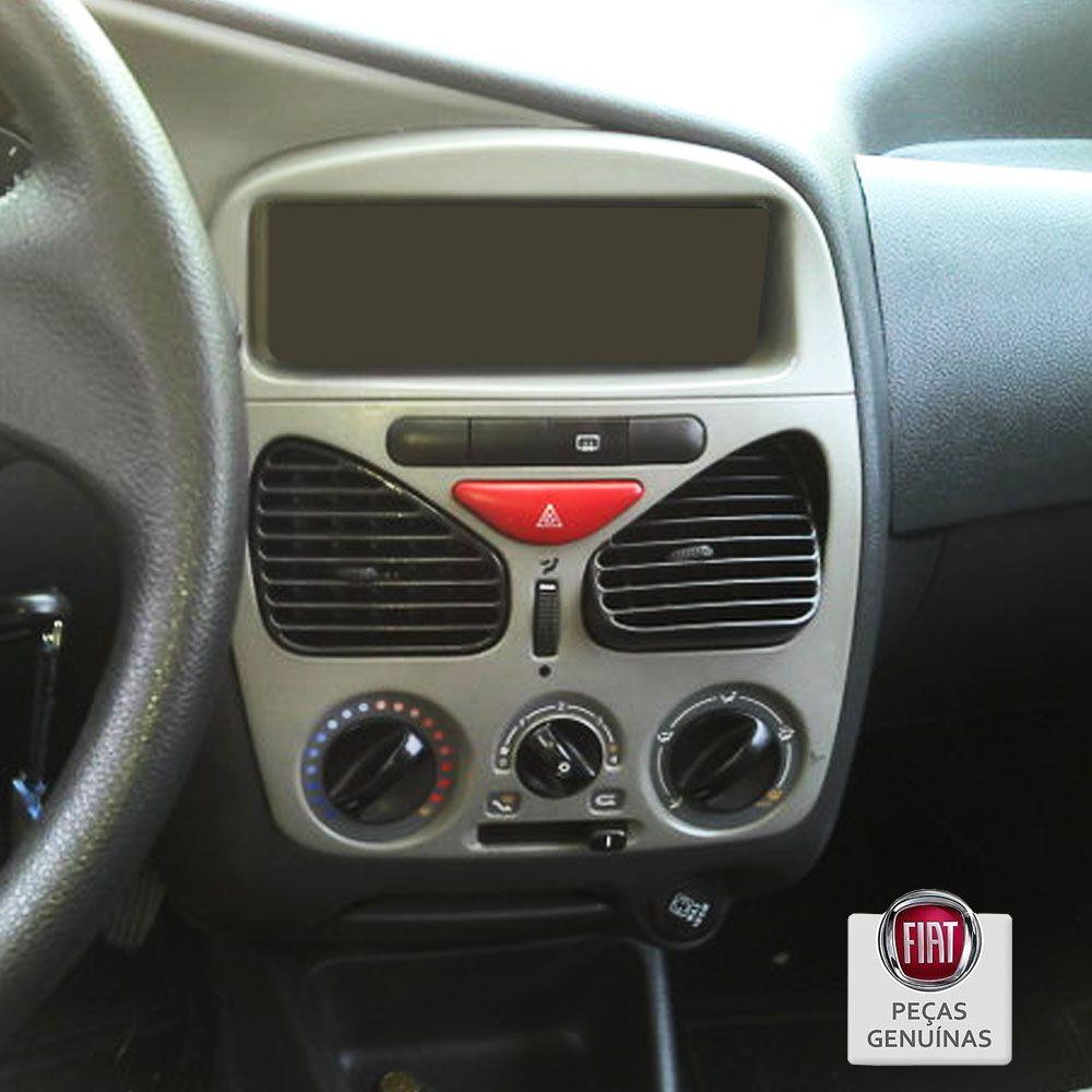 Moldura Painel Central Fiat Palio e Siena 2001-2007 Cod. 100156718