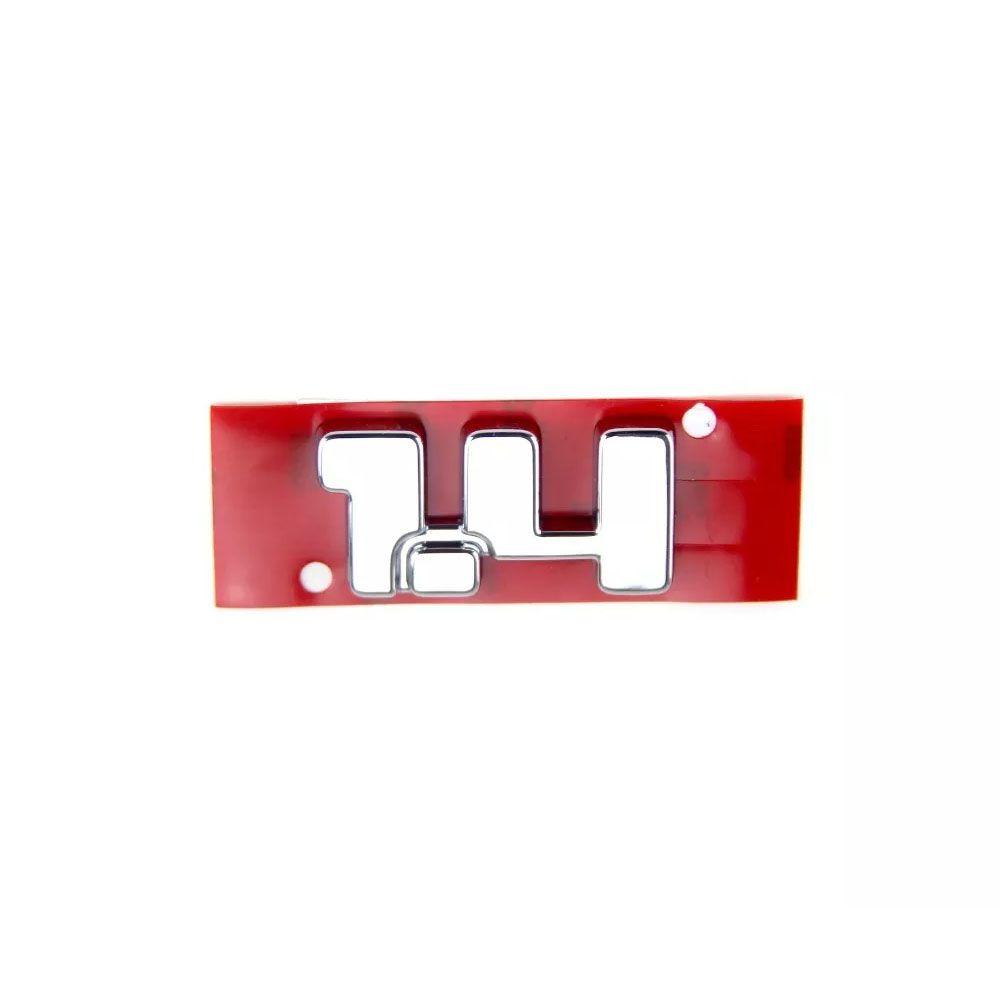 Sigla Emblema 1.4 Traseiro Fiat Strada Original Cod. 100192453