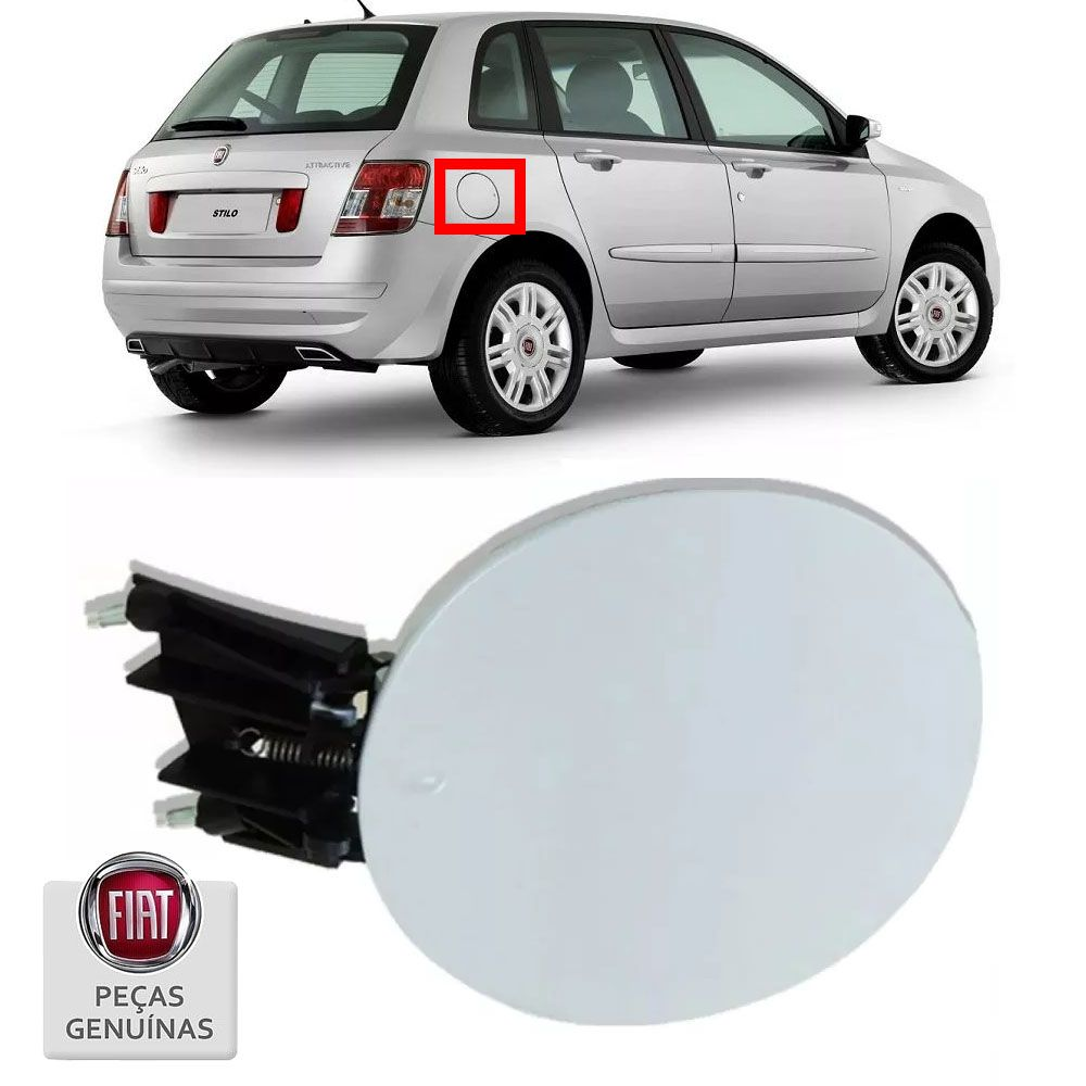 Tampa Do Tanque Combustivel Fiat Stilo 2003 a 2011 Cod. 735368538