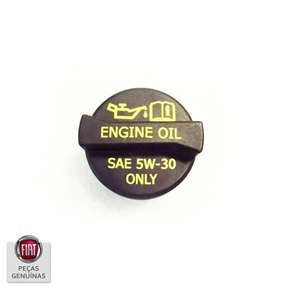 Tampa Enchimento Óleo Fiat 500  Cod. K04892822AB
