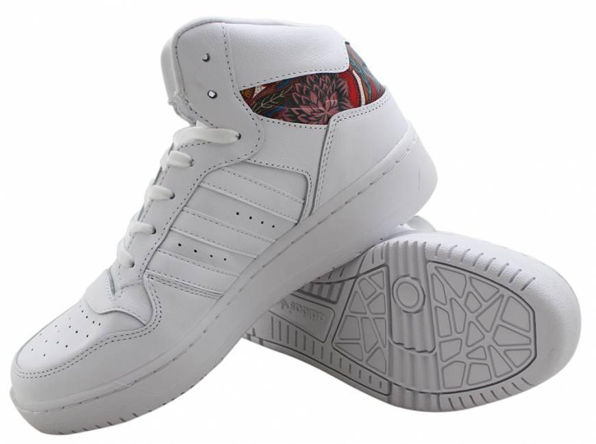 07681c74003 ... Tênis Adidas M Attitude Revive W Farm Branco Detalhe Floral - Willian  Radical ...