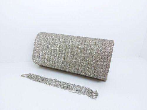 Bolsas Femininas Clutch Tecido Brilho Textura Festa (1)