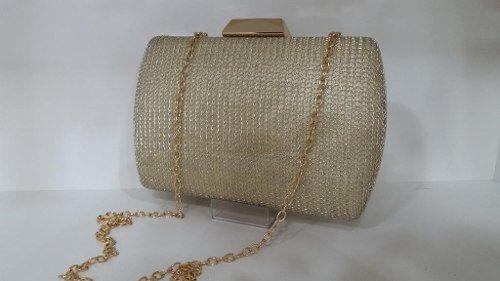 Bolsas Femininas Clutch Textura Malha Carteira Festa (A974)