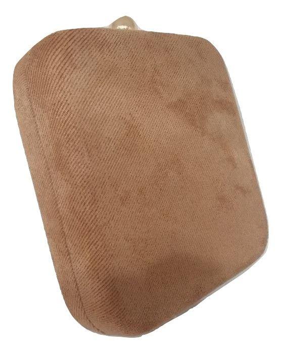 Bolsas Femininas Clutch Quadrada Tecido Pingente Festa(A674)