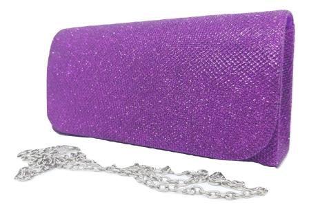 Bolsas Femininas Clutch Tecido Brilho Carteira Festa (5173)