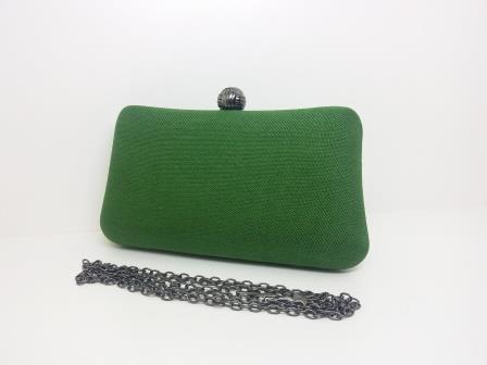 Bolsas Femininas Clutch Tecido Linho Luxo Festa (S138)