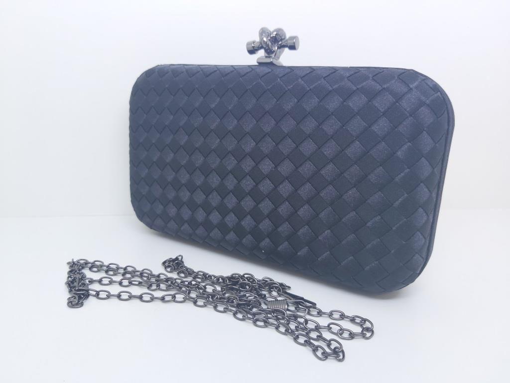 Bolsas Femininas Clutch Trançada Luxo Carteira Festa (G5)