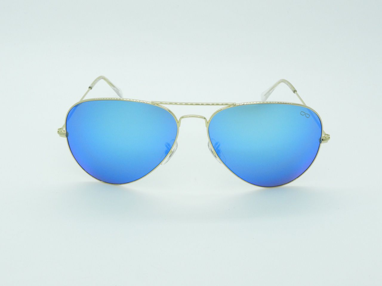 efb34b36e8f06 Óculos de Sol Unissex 3025 Azul Espelhado 62 - Difaty
