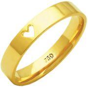 Aliança First Love de Ouro 18K ZAE188