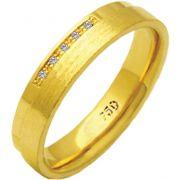 Aliança La Vie de Ouro 18K ZAE153
