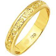 aliança scarlet de ouro 18k zba045