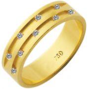 Aliança Sophia de Ouro 18K ZAE241
