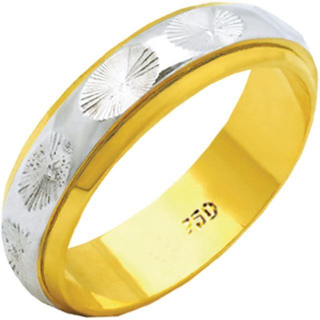 Aliança Allegra de Ouro 18K ZAE167