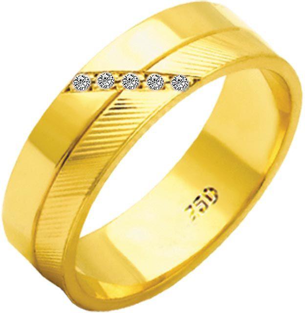 Aliança Paris de Ouro 18K ZAE184