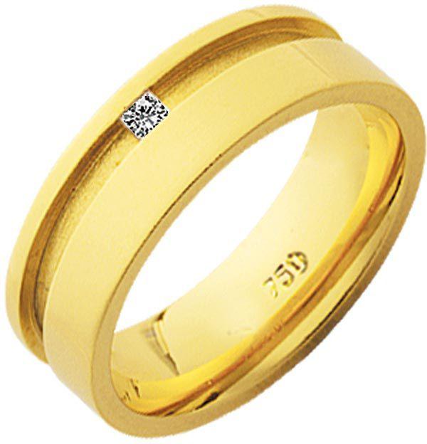 Aliança Paris de Ouro 18K ZAE254