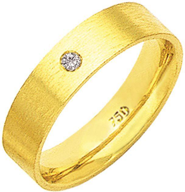 Aliança Ponto de Amor com Ouro 18K ZAE13