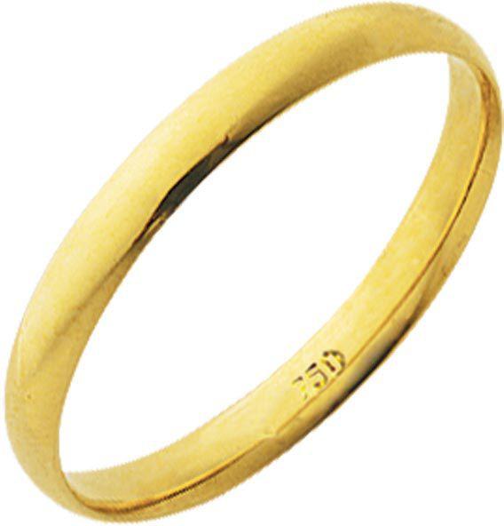 Aliança Tradicional de Ouro 18K ZSA20