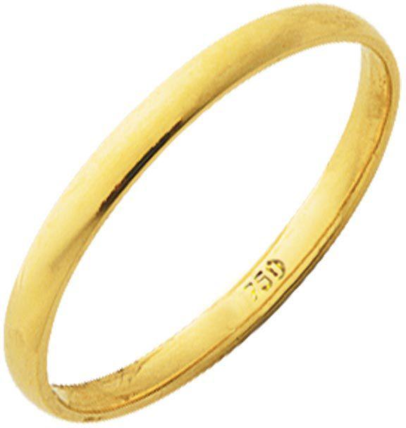 Aliança Tradicional de Ouro 18K ZSA25