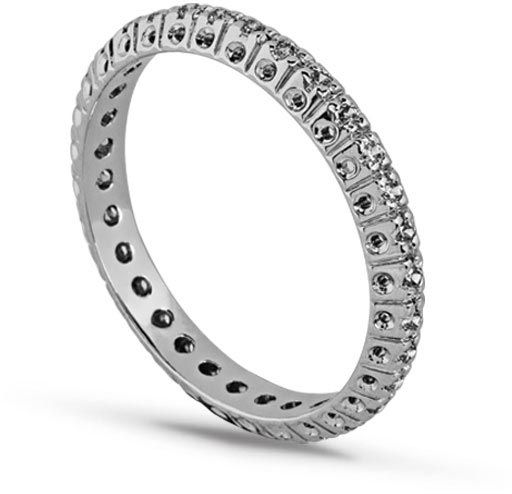 anel meia aliança ilumi de ouro 18k zai08