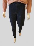 Calça Feminina Plus Size com Faixa na Lateral