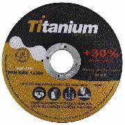 Disco De Corte Titanium Fino 4.1/2x1,0x7/8 -caixa C/ 100