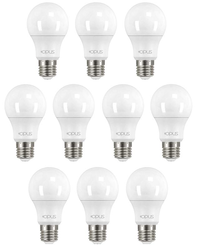 Lâmpada Bulbo LED branca fria A60, 9.8W, 810lm, 6.500K