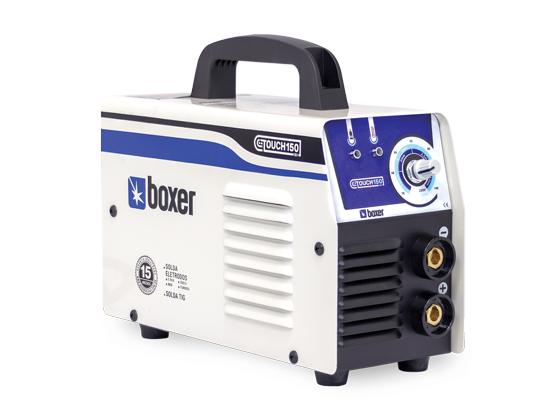 Máquina inversora de solda portátil Boxer Touch 150, bivolt