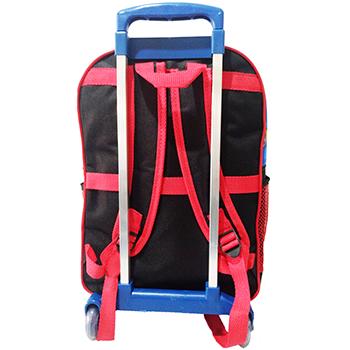 60f0fc43e kit mochila infantil Blaze tamanho grande rodinhas com lancheira e ...