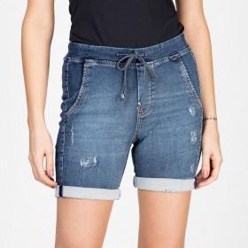 Bermuda Jeans Jogger Destroyed