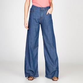 Calça Jeans Leve Pantalona Liocel