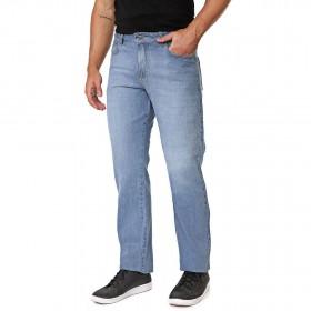 Calça Jeans Masculina Reta Delavê