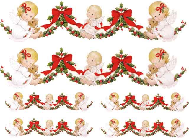 Anjinhos de Natal - Faixa