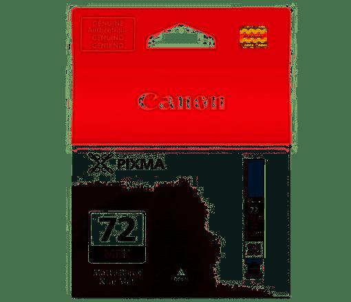 CARTUCHO TINTA CANON PRO-10  -  PGI-72MBK 13ml  - LOJAINFOPARANA