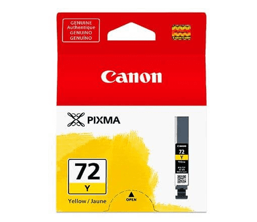 CARTUCHO TINTA CANON PRO-10  -  PGI-72Y 13ml  - LOJAINFOPARANA