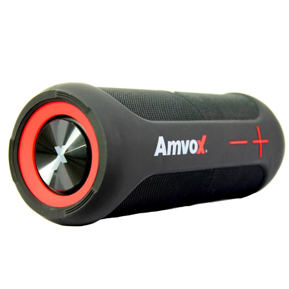 Caixa Som portatil Amvox Duox 2 em 1 a prova d'agua