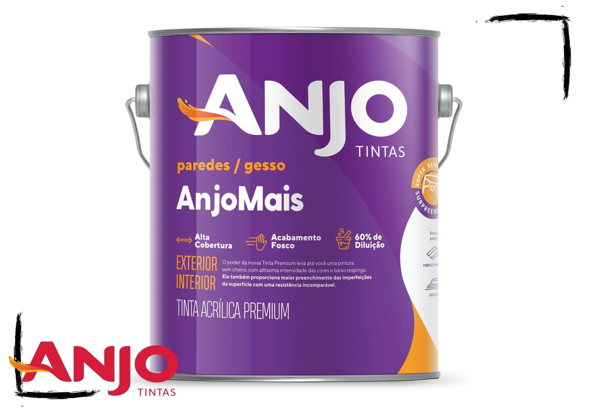 Anjo Mais Acrílico Premium Fosco 3,6L*