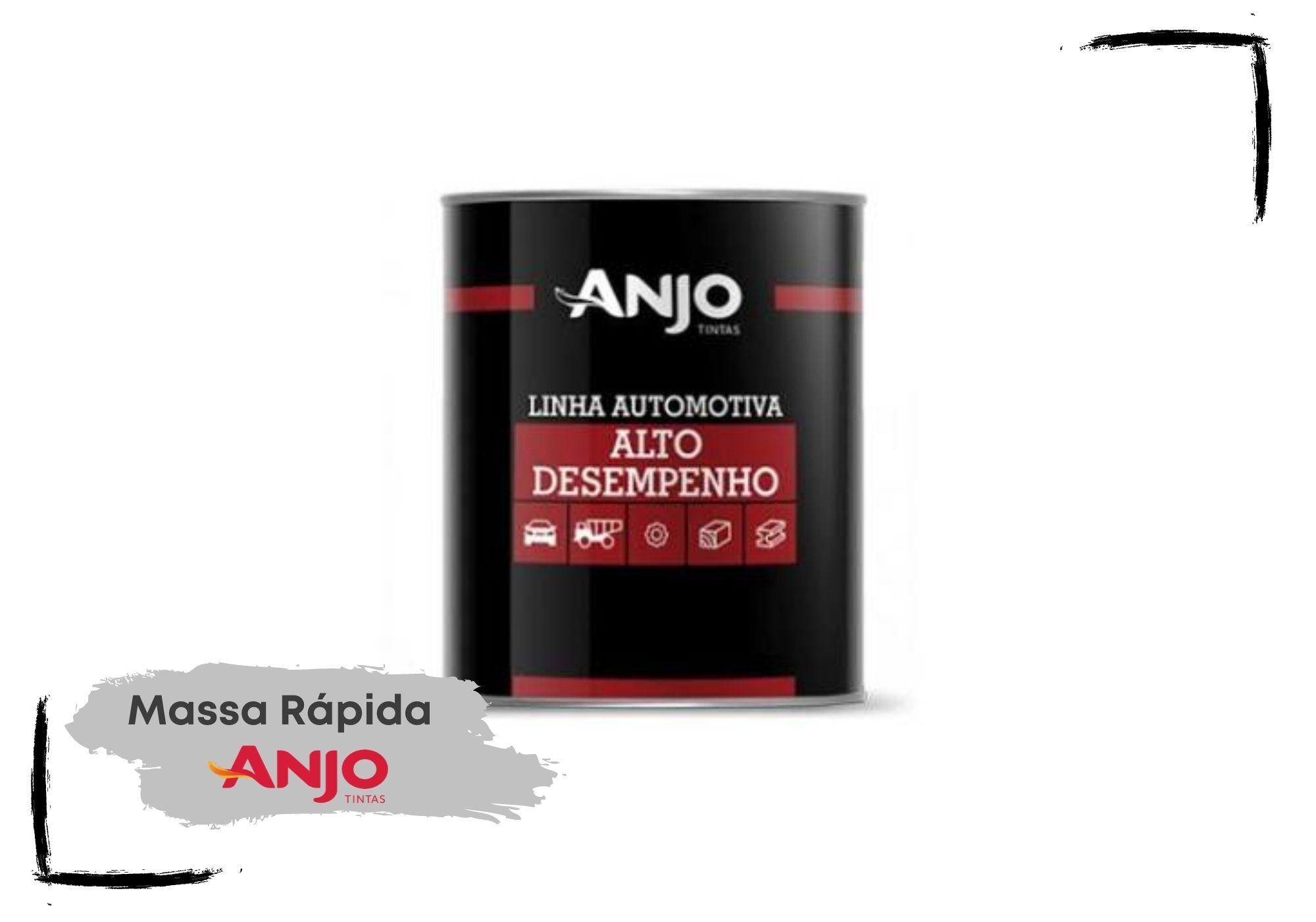 Anjo Massa Rápida Cinza 1,25Kg