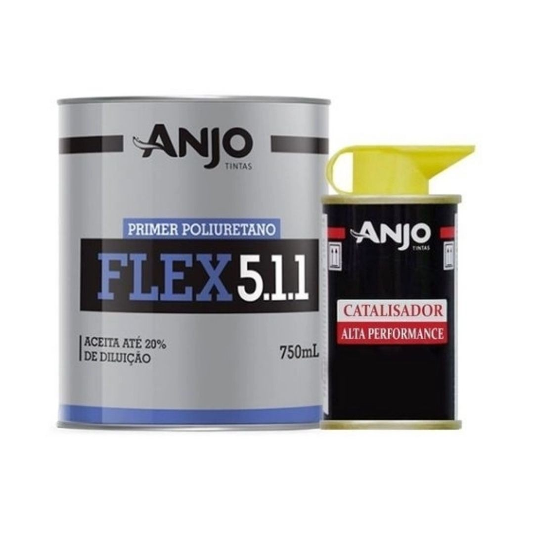 Anjo Primer PU Flex Kit c/Catalisador 900ml