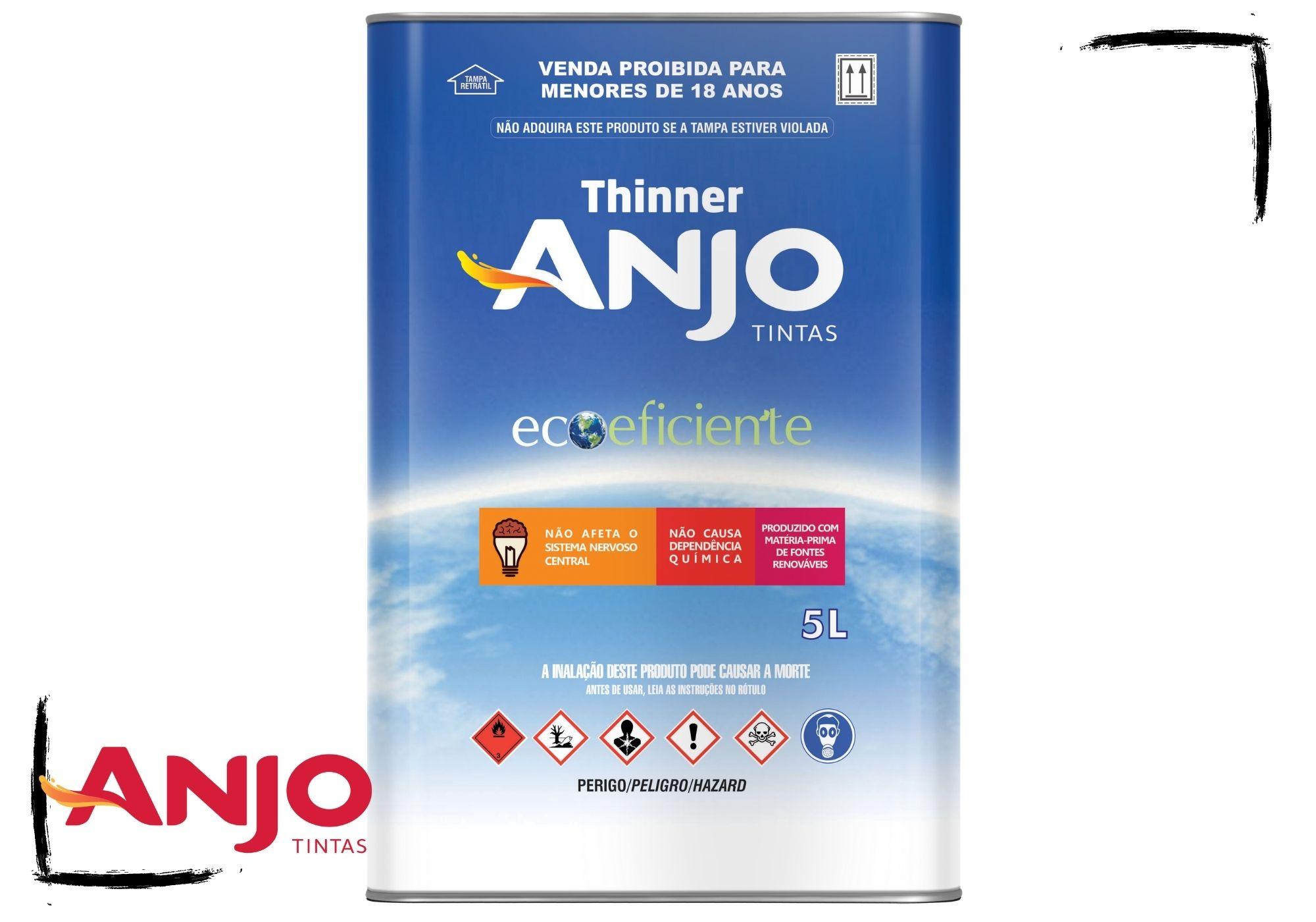Anjo Thinner 2900 ECOeficiente Limpeza e Diluição