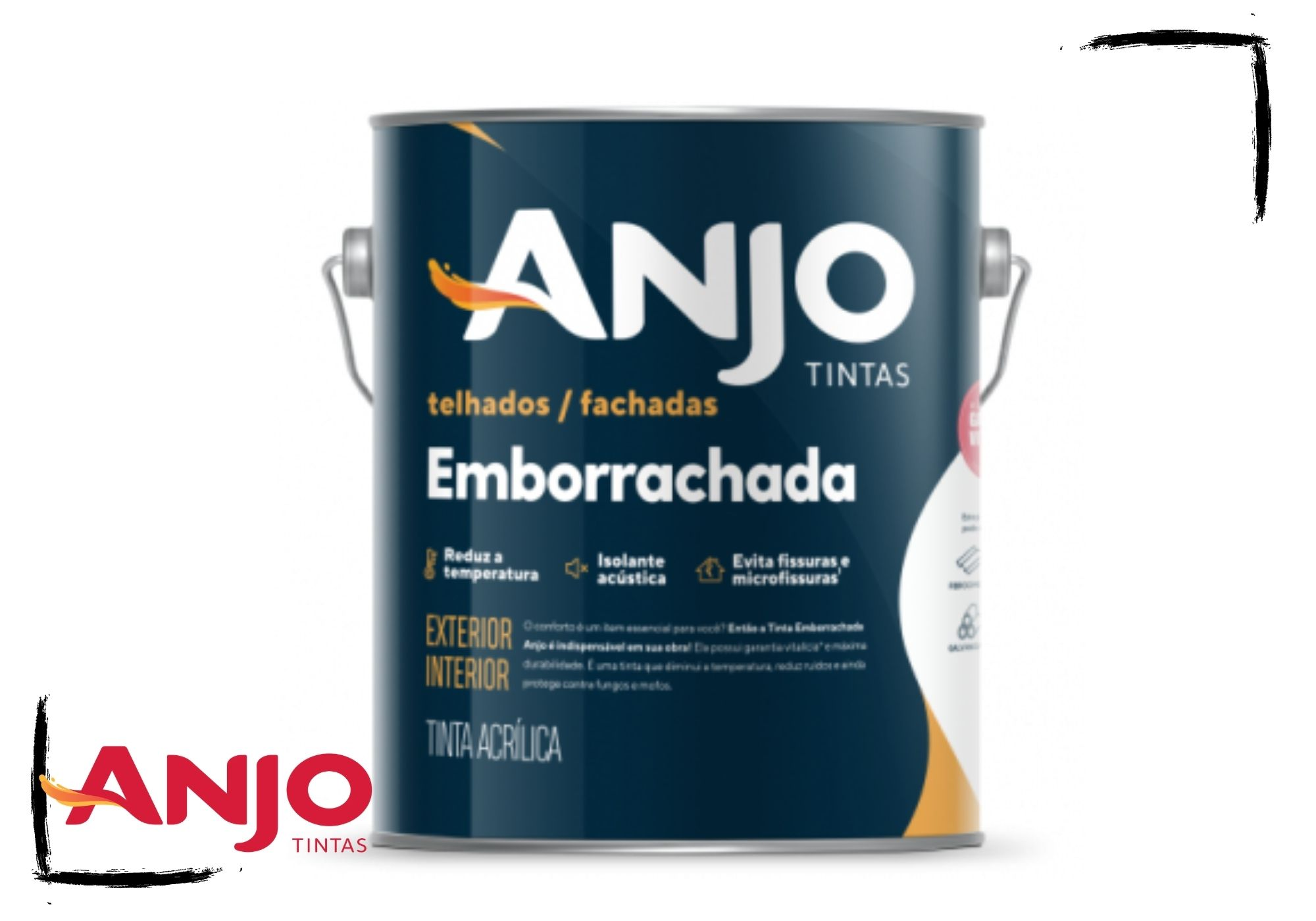 Anjo Tinta Emborrachada Acetinada 3,6L*