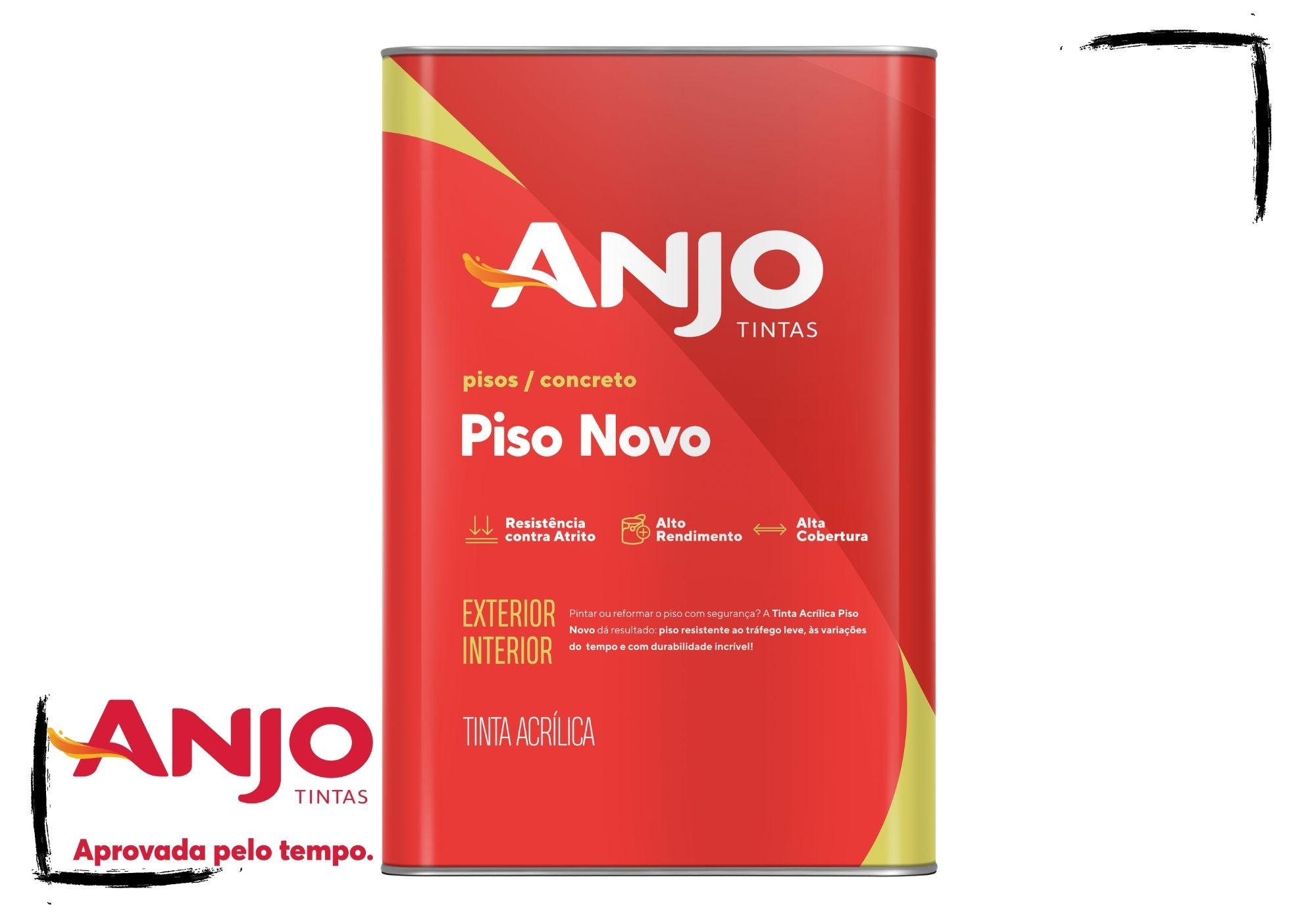 Anjo Tinta Piso Novo 18L